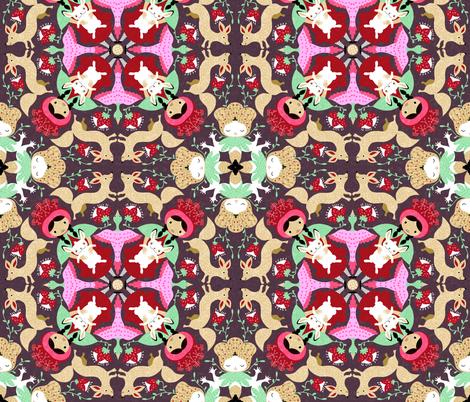newmandala fabric by gaiamarfurt on Spoonflower - custom fabric