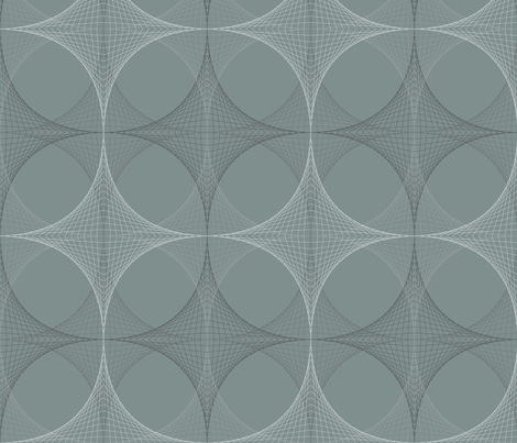 Geodesic fabric by gemmacosgrove-ball on Spoonflower - custom fabric