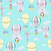 Hot Air Balloon Pattern