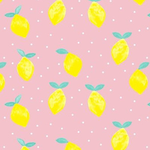 so fresh lemons - (light pink)