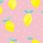 so fresh lemons - (light pink)