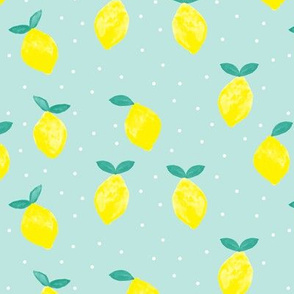 so fresh lemons - blue