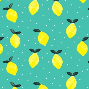so fresh lemons - green