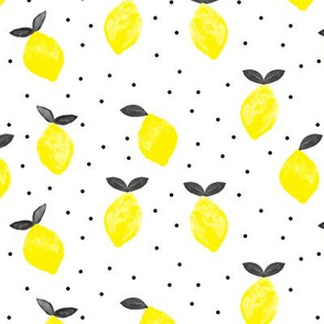 so fresh lemons (black and yellow)