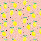 so fresh lemons (salmon peach)