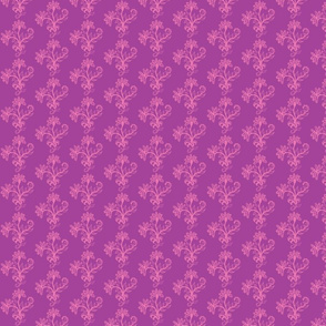 Carmine Bouquet Plum Pink