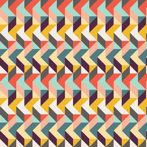 Rigid Waves fabric by eh&co on Spoonflower - custom fabric