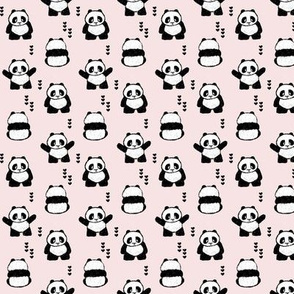 (small scale) pandas (hearts) || pandamonium