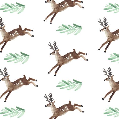 Oh Deer fabric by shelbyallison on Spoonflower - custom fabric