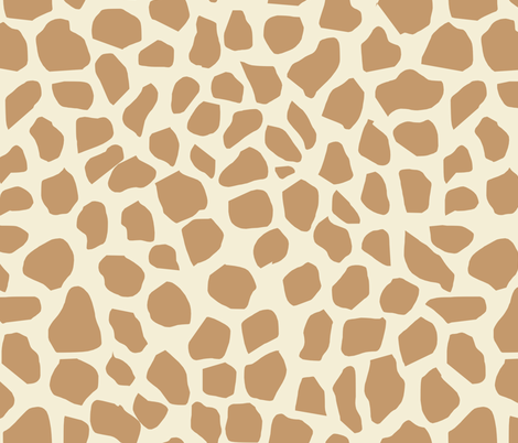 giraffe spot fabric neutral nursery safari animals design fabric by charlottewinter on Spoonflower - custom fabric