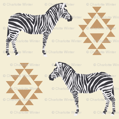 zebra fabric safari animals fabric nursery baby design neutral