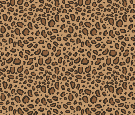 leopard print fabric safari animals nursery fabric baby design neutral fabric by charlottewinter on Spoonflower - custom fabric