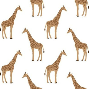 giraffe fabric safari animals nursery fabric baby nursery neutral