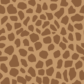 giraffe spot fabric neutral nursery safari animals design