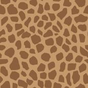giraffe spot fabric neutral nursery safari animals design