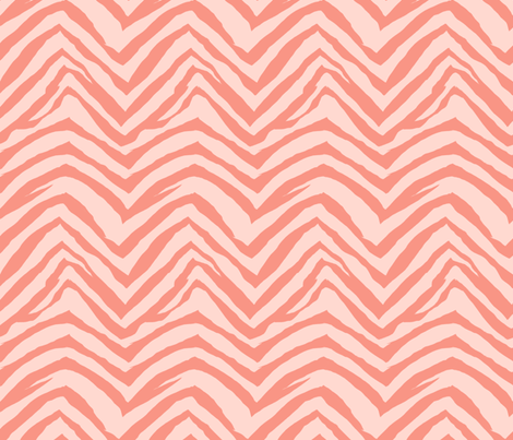zebra print fabric zebra stripes safari animals fabric blush fabric by charlottewinter on Spoonflower - custom fabric