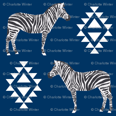 zebra fabric safari animals fabric nursery baby design navy