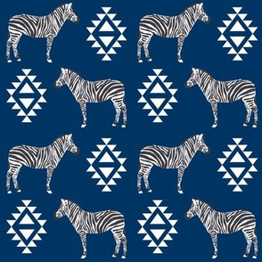 zebra fabric safari animals fabric nursery baby design navy