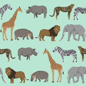 safari animals fabric safari nursery design mint nursery