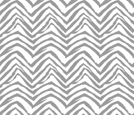 zebra print fabric zebra stripes safari animals fabric grey fabric by charlottewinter on Spoonflower - custom fabric