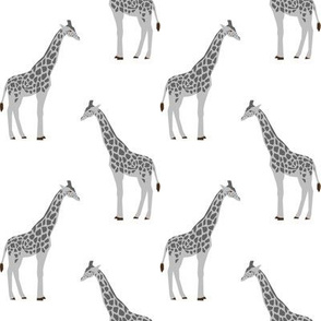 giraffe fabric safari animals nursery fabric baby nursery grey