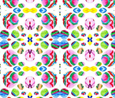 Moon Marbles fabric by kasparian_modern on Spoonflower - custom fabric