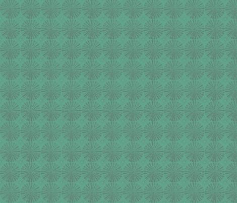 ocean Paris  wheels fabric by twigsandblossoms on Spoonflower - custom fabric