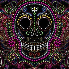 Sugar skull dotsplosion