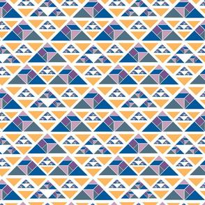 tangram triangles white