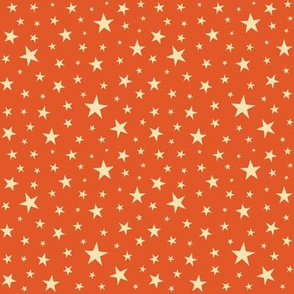 Cream_Stars_on_Orange