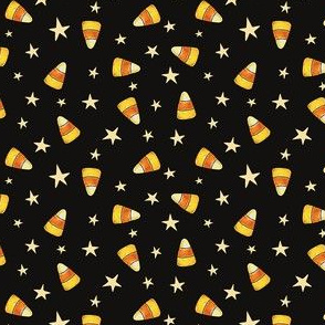 Candy_Corn_&_Stars_on_Black