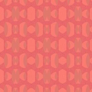hot pink and orange sterling