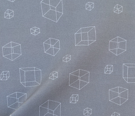 Constellation of Cubes (gray)