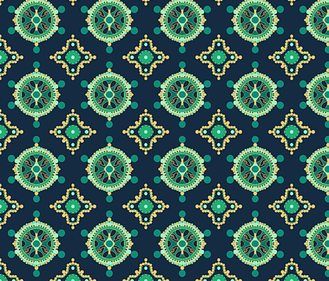 Regal  fabric by franbail on Spoonflower - custom fabric