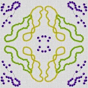 Mardi Gras beads 1