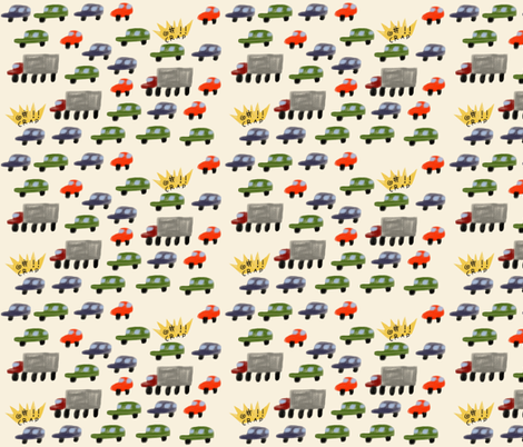 patterntraffic fabric by kimmurton on Spoonflower - custom fabric