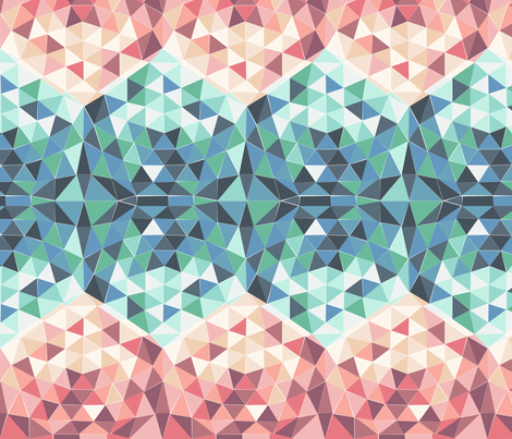 Geodesic pattern fabric by hollydickson on Spoonflower - custom fabric