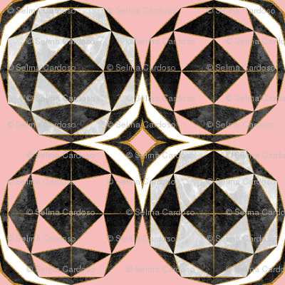 Geodesic optic roses