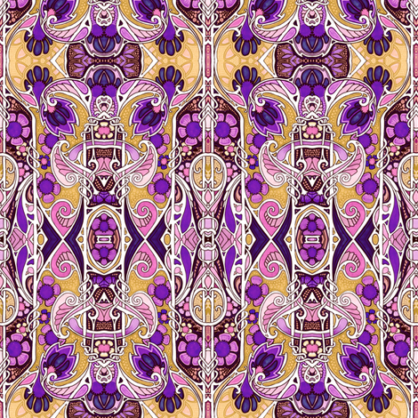 1001 Paisley Nights fabric by edsel2084 on Spoonflower - custom fabric
