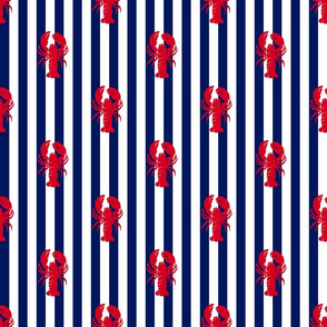 red_lobster_on_navy_stripe