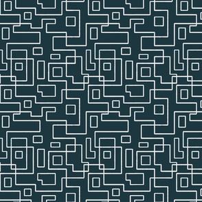 Lines Darkblue