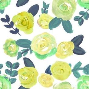 turquoise teal vintage rose