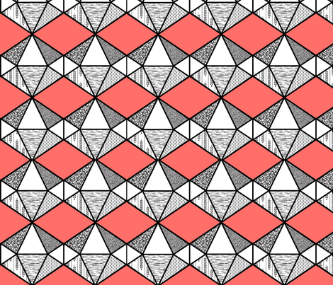 Geodesic Candy fabric by janemonteith on Spoonflower - custom fabric