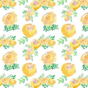 golden summer floral