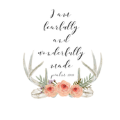 I Am Fearfully Made | Woodland Watercolor