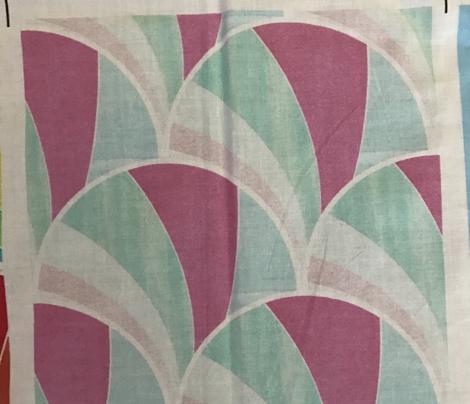 Warped Pastel Deco Pattern