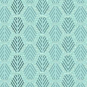 Hexie Pines Light Turquoise