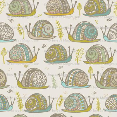 Snails Aqua Citron