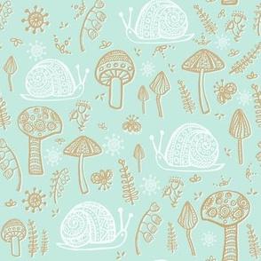 Snails & Mushrooms Mint