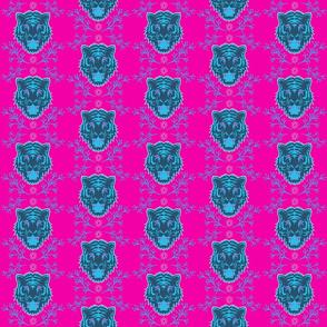 Pink Bengal Tiger Petit